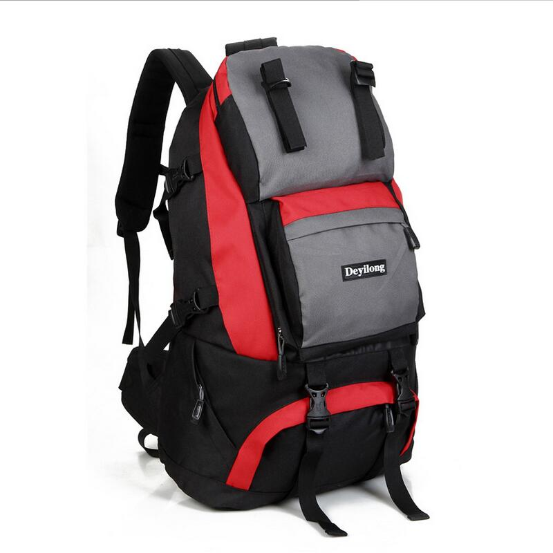 Outdoor mountaineering bag backpack Oxford cloth double shoulder schoolbag travel camping sport bag rucksack man woman backpacks