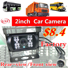LSZ car Rear View CMOS Camera Reverse Backup Camera Rearview Parking 120 Degree IR Nightvision Waterproof 24V Bus Truck Camera