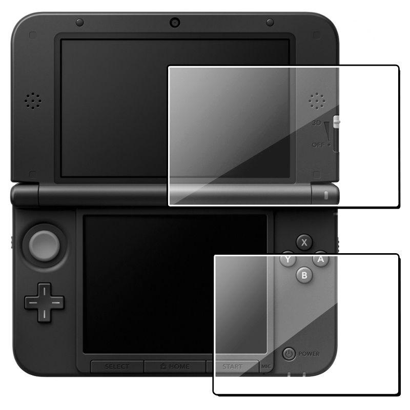2017 Hot New Clear Top +Bottom LCD Screen Protector Protect Cover Guard Filter Skin Film For Nintendo 3DS XL High Quality все цены