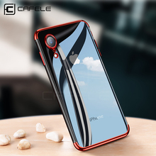 CAFELE soft TPU case for iPhone xr xs max ultrathin transparent plating shining cover Mixed silicon cases