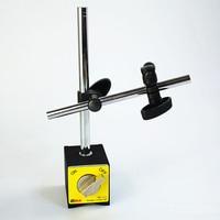 Suporte base magnética com pólo ajustável duplo para indicador de discagem teste calibre PD 111|Peças e acessórios p/ instrumentos| |  -