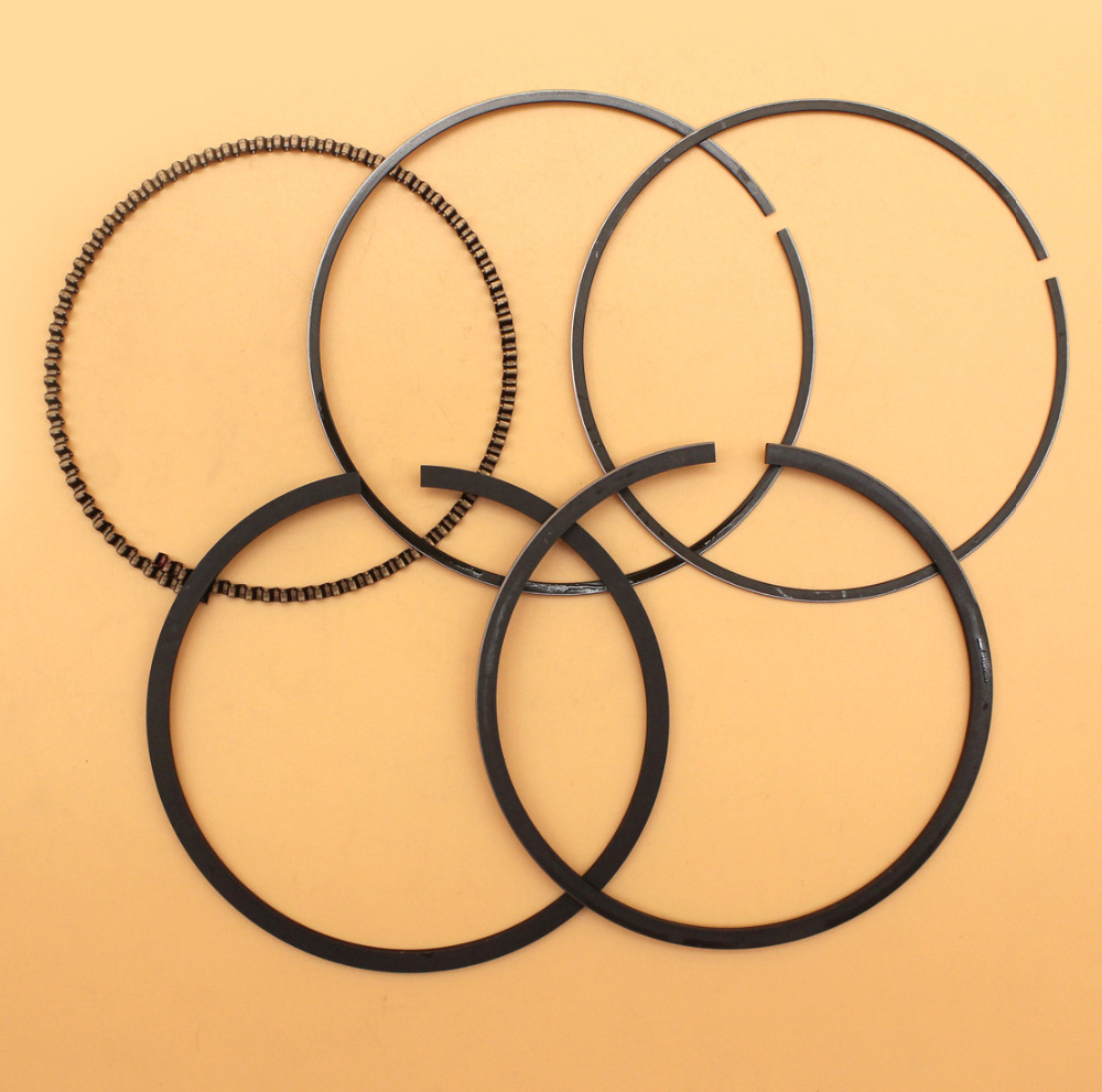 Piston Rings Set For 88MM Cylinder Piston Fit HONDA GX390 GX 390 13HP 5KW 188F 190F Gasoline Engine Motor Generator