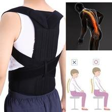 Adjustable Spine Back Brace Therapy Belt Steel Plate Orthopedic Posture Correcto