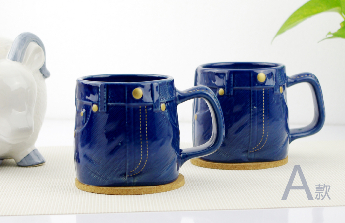 creative jeans pant idea novelty ceramic coffee tea mug cupfood safe coffee cup potstunning design office cup in mugs from home garden on aliexpresscom - Cup Design Ideas