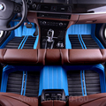 Tapetes do carro personalizado para Todos Os Modelos Toyota Corolla Camry Rav4 Prius Auris Avensis Yalis 2014 acessórios estilo do carro pé esteiras