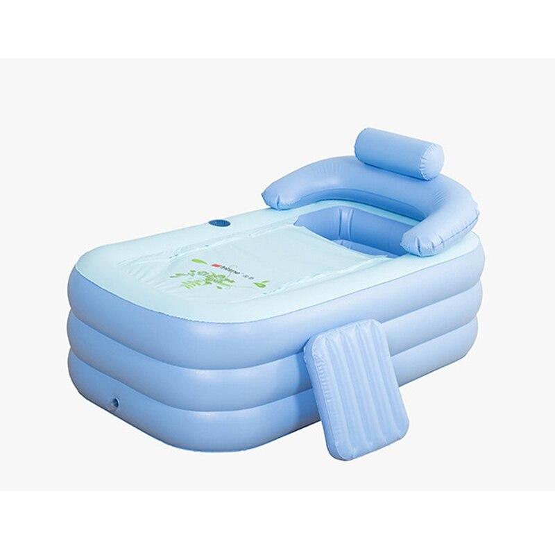vendita calda portatile pvc adulto caldo spa pieghevole vasca da bagno gonfiabile cassetta di sicurezza eco