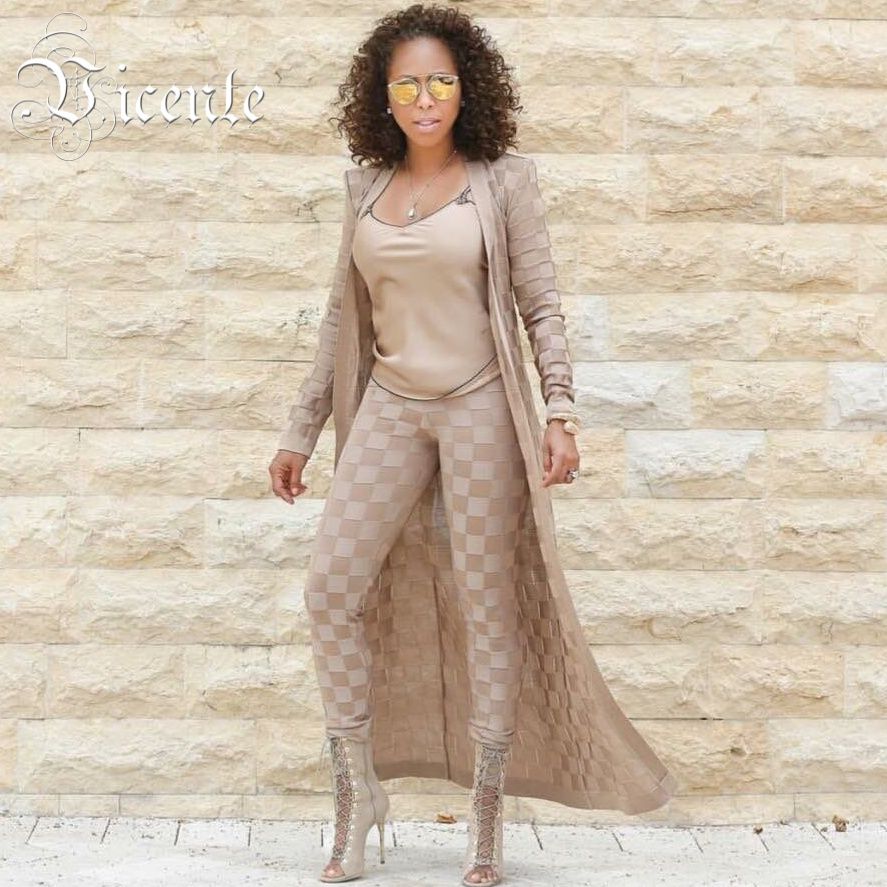 Здесь продается  Free Shipping! 2018 New Hot Stunning Sexy Plaid Pattern Heavy Jacquard with Belt Two Pieces Set Celebrity Jacquard Bandage Set  Одежда и аксессуары