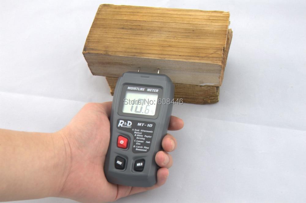 Igrometri Tester per misuratore di umidità in cartone di carta in legno caldo Range: 0 ~ 99,9% di umidità