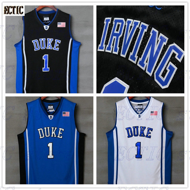 f211dfc5ba67 ... new zealand 2017 ectic 1 kyrie irving jersey duke blue devils throwback  jers retro basketball jersey