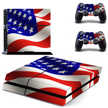 American US Flag PS4 Skin Sticker