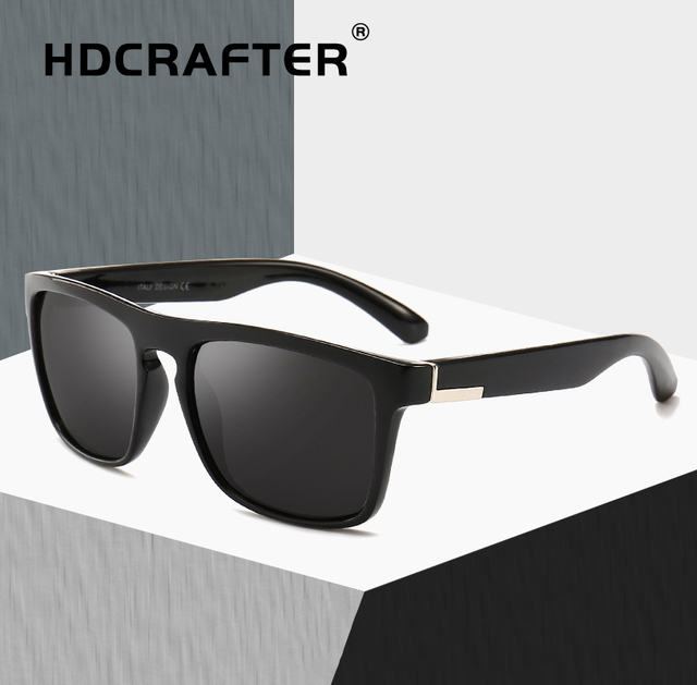 947da840eca7b Polarized Sunglasses Men Square Brand Design Vintage Sunglasses Driving Sun  Glasses For Men lentes de sol