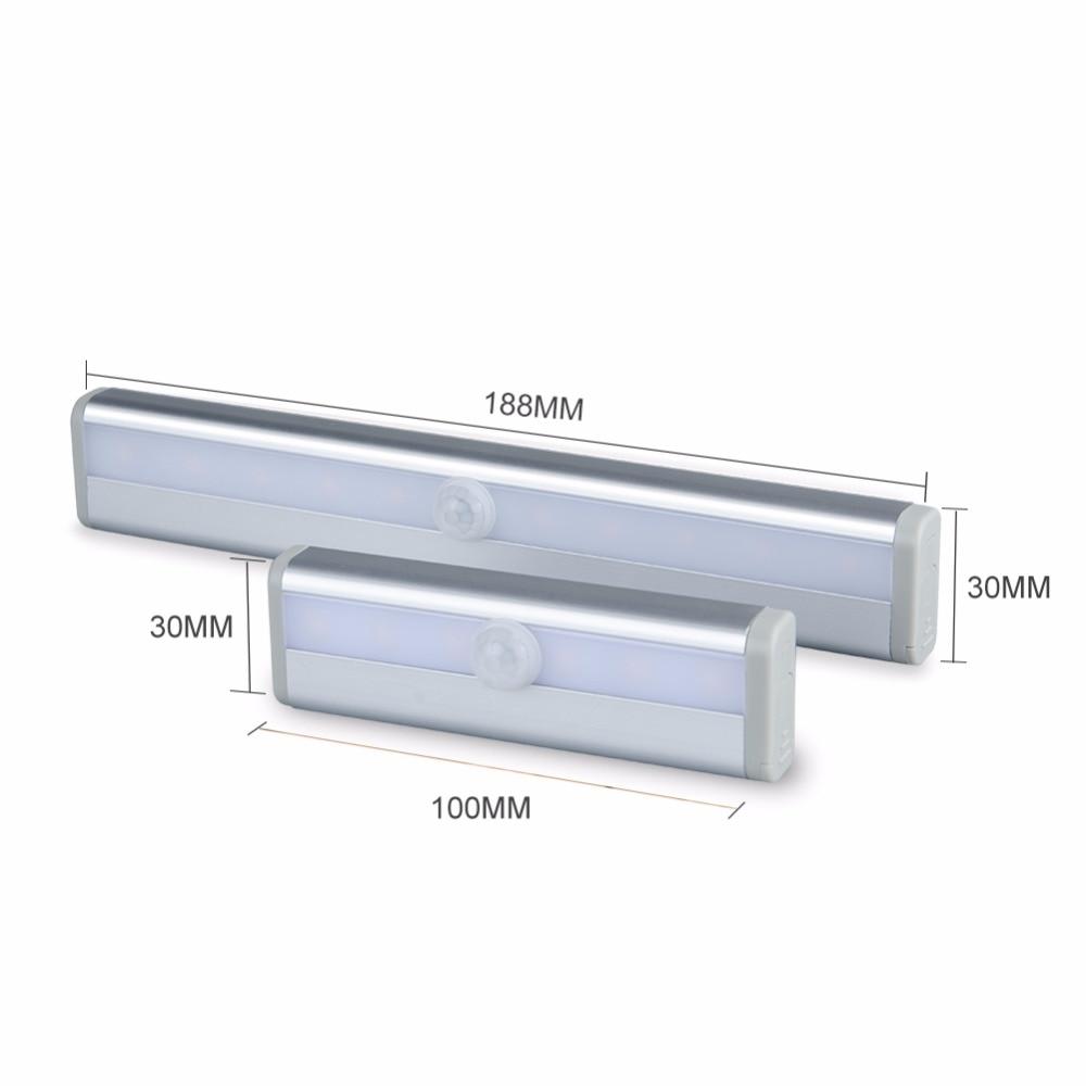 Motion Sensor LED Night Light 6 10 LEDs High Lumen