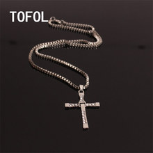 TOFOL The Fast And The Furious Dominic Toretto Viese Necklace Men Women Female Male Pendant Necklace