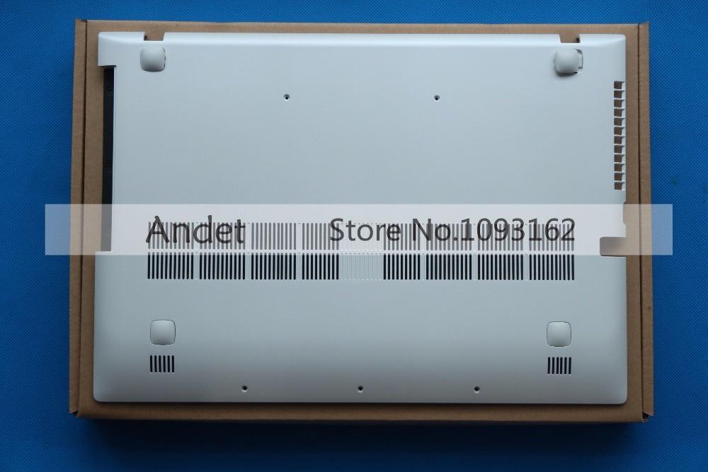 New Original for Lenovo IdeaPad Z500 P500 Bottom Case Base Cover White 90202120 AP0SY000430