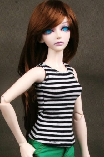 [wamami] 06# Black Stripe T-Shirt/Outfit 1/4 MSD DOD BJD Dollfie