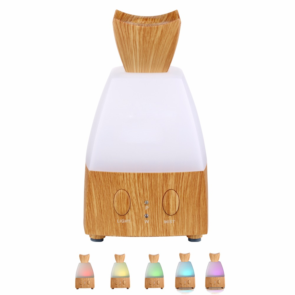 Ultrasonic Air humidifier essential oil diffuser LED light Aromatherapy 7 color change electric aroma diffuser for home office ultrasonic air humidifier essential oil diffuser led light aromatherapy 7 color change electric aroma diffuser for home office