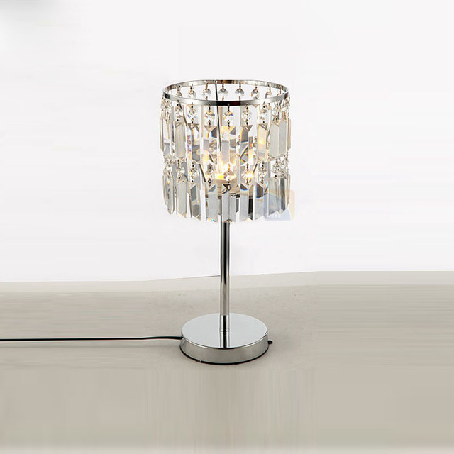 Modern Crystal Hanging Bedroom Desk Lamps Luxury Living Room D7 X H18 1