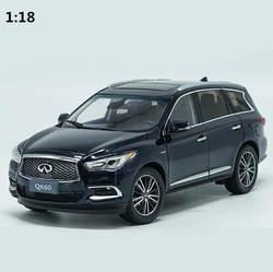 Высокая моделирования INFINITI QX60 2017 Коллекция Модель 1:18 advanced сплава Модель автомобиля, литья под давлением Металл игрушечный автомобиль