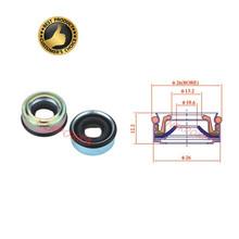 A C uszczelka do wału kompresora uszczelnienie olejowe dla Sanden SD508 SD709 SD7H15 SD7V16 7SB16C DKS15CH tanie tanio NEKPOKKA CN (pochodzenie) iron Klimatyzacja montaż 0 2kg oil seal Iso9001