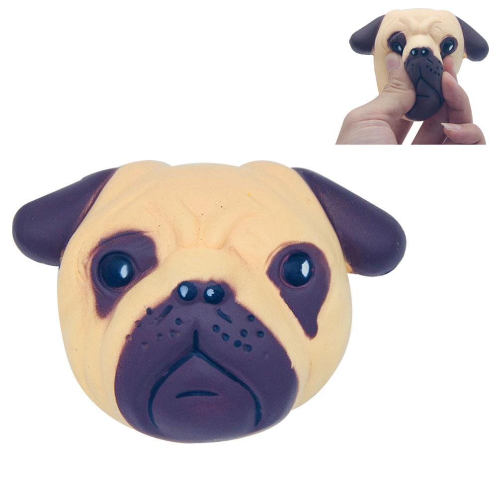 Aleviter Squishy Jumbo animals dog Slow Rising toys 2018 Stress Relief squeeze toy kids Gift cute Craft Decors