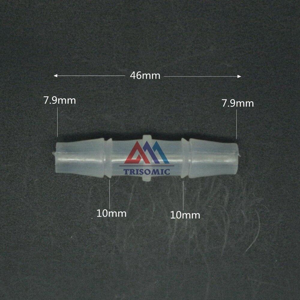 Sanitär Gerade 7,9mm Gerade Verbindungskunststoffrohr Fitting Barbed Stecker Material Pp Schlauch Pvc Rohr Verbindung Joiner Fitting Aquarium Rohrverbindungsstücke