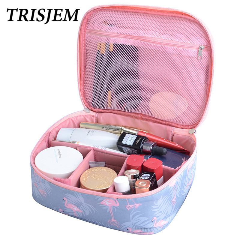 Neceser waterproof Women Makeup bag Cosmetic bag Case Travel Make Up Toiletry bag Organizer Storage pouch set box professional new women fashion pu leather cosmetic bag high quality makeup box ladies toiletry bag lovely handbag pouch suitcase storage bag