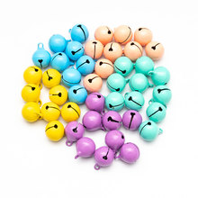 20PCS/Lot Beautiful Iron Loose metal Beads Jingle Bells Christmas Decoration Pendants DIY material Crafts Christmas Bells 5size 10pcs lot gold silver 30 25 35mm jingle bells fit festival christmas decoration jewelry craft pendants phone decorations