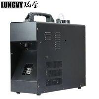 Бесплатная доставка 1500 Вт дымка машина для производства дыма 2L Fogger дымовая машина с DMX512/дистанционное управление профессиональное студийн