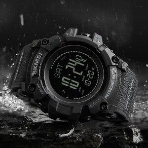 Image 3 - SKMEI מותג Mens ספורט שעונים שעות מד צעדים קלוריות הדיגיטלי מד מדחום מזג אוויר גברים שעון