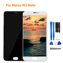 For Meizu M2 Note LCD Display Digitizer Touch Screen With Frame 5.5inch Display for Meizu M2 Note Phone Display Screen Parts