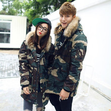 2019 New Brand Winter Men/Women Thick Camouflage Jacket Men's Parka coat Male Fur Hooded Parkas Jacket Men Military Overcoat 5XL 2017 camouflage parkas men military medium long winter larger size m 5xl men thickening cotton padded jacket men with fur hood