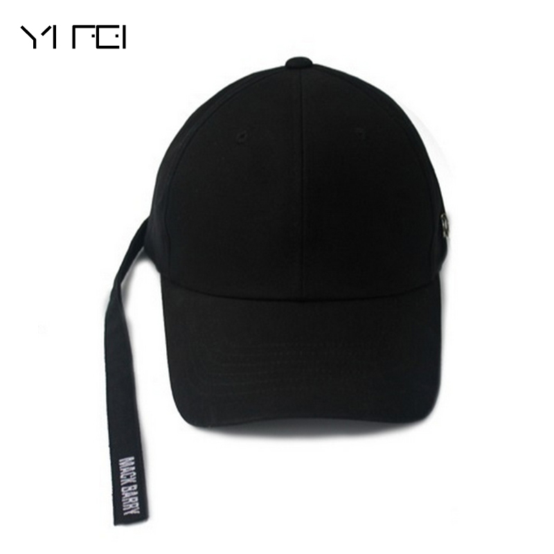 3cf24f6f0b0 Jackson EXO Tape Embroidery Hats Women Baseball Caps Pin Iron Ring Hip Hop  Mens Casquettes Bboy Gorras Bones Solid Color