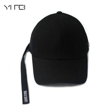 Jackson EXO cinta bordado sombreros mujeres Gorras de béisbol Pin hierro  anillo Hip Hop Casquettes Bboy Gorras huesos Color sólido d6df95cc863