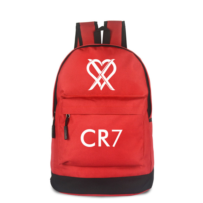 Free Shipping CR7 Backpack Men Boys Ronaldo Anime Bags  Bagpack Mochila Travel Bag Teenagers School Bags Gift Kids new 2017 women backpack painting school bags for teenagers girls stylish children bagpack ladies travel bag student kids mochila