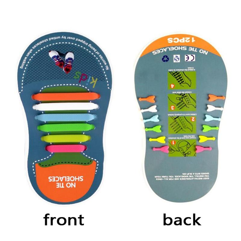 Mr. Niscar 1 Set / 12 Stks Rubber Slip Sneaker Elastische - Schoenaccessoires - Foto 2