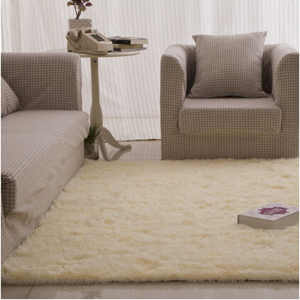 free shipping fluffy rugs anti skid shaggy area rug dining bedroom carpet floor mat