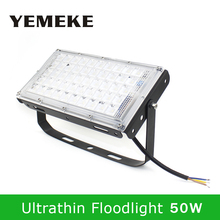 hot deal buy led flood light 50w led spotlight outdoor waterproof ip65 220v smd 5730 4500lm reflector led floodlights outdoor garden lamp