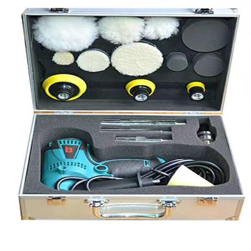 850 Вт Электрический автомобильный полировщик буферный полировальный аппарат по детализации шлифовальный станок шлифовальный электроинструмент