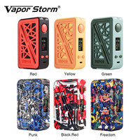New Vapor Storm Subverter 200W Box Mod Vape Electronic Cigarette TC TCR TFR 0.96 Inch Screen Plastic Cover Without 18650 Battery