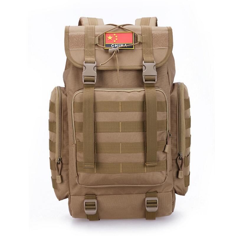 купить 40L Military Tactical Backpack Army Molle Waterproof Sports Bag Climbing Rucksack for Outdoor Hiking Camping Hunting Backpacks по цене 2180 рублей