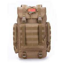 40L Military Tactical Backpack Army Molle Waterproof Sports Bag Climbing Rucksack for Outdoor Hiking Camping Hunting Backpacks