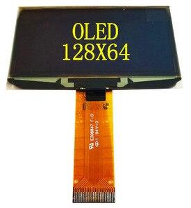 Image 2 - 2.42 2.4 인치 파란색 흰색 녹색 노란색 128x64 OLED 디스플레이 모듈 8bit 6800/8080 4 SPI 직렬 I2C IIC 인터페이스 24 핀 ssd1309