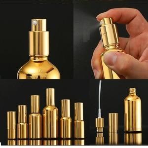 Image 4 - 15 ชิ้นทองน้ำมันหอมระเหยแก้วขวด Vial เครื่องสำอางเซรั่มบรรจุภัณฑ์โลชั่นปั๊ม Atomizer สเปรย์ขวด Dropper ขวด 5/ 20/30 มิลลิลิตร