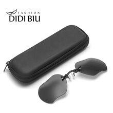 Clip On Nose Mini Sunglasses Men Rimless Alloy Steampunk Small Sun Glasses Black Matrix Morpheus Movie Eyewear With Box HL1050
