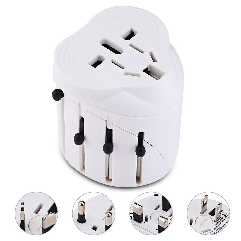 US/EU/AUS/UK Universal Plug Travel Adapter AC100-240V Universal Power Travel Converter Portable International Plug Adapter