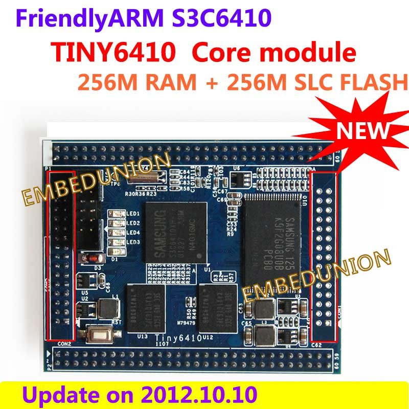FriendlyARM S3C6410 ARM11,TINY6410 STAMP Module Development Board,256M RAM+256M SLC Nand Flash,Android,Linux,WinCE module xilinx xc3s500e spartan 3e fpga development evaluation board lcd1602 lcd12864 12 module open3s500e package b