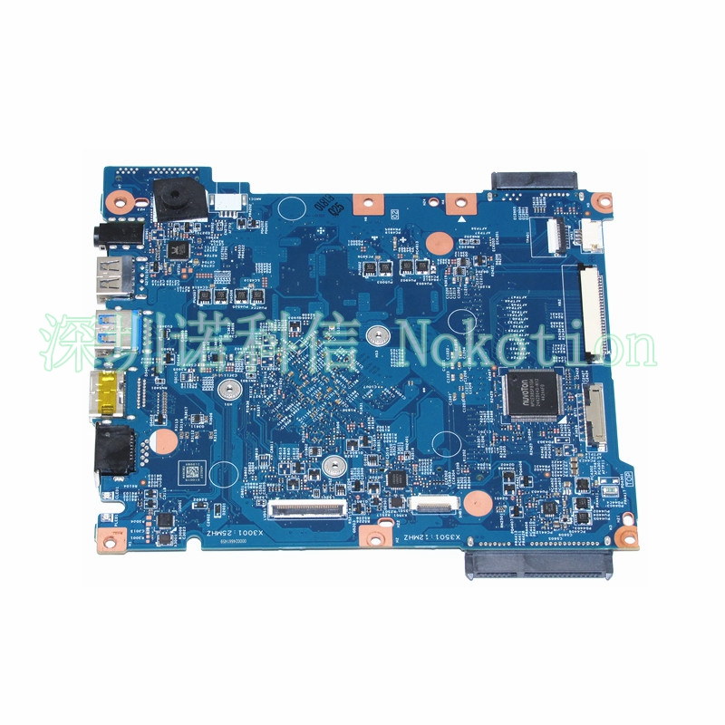 NOKOTION NBMRW11002 NB.MRW11.002 For acer acer Aspire ES1-512 laptop motherboard 448.03703.0011 N2840 CPU warranty 60 days nokotion nbm1011002 48 4th03 021 laptop motherboard for acer aspire s3 s3 391 intel i5 2467m cpu ddr3