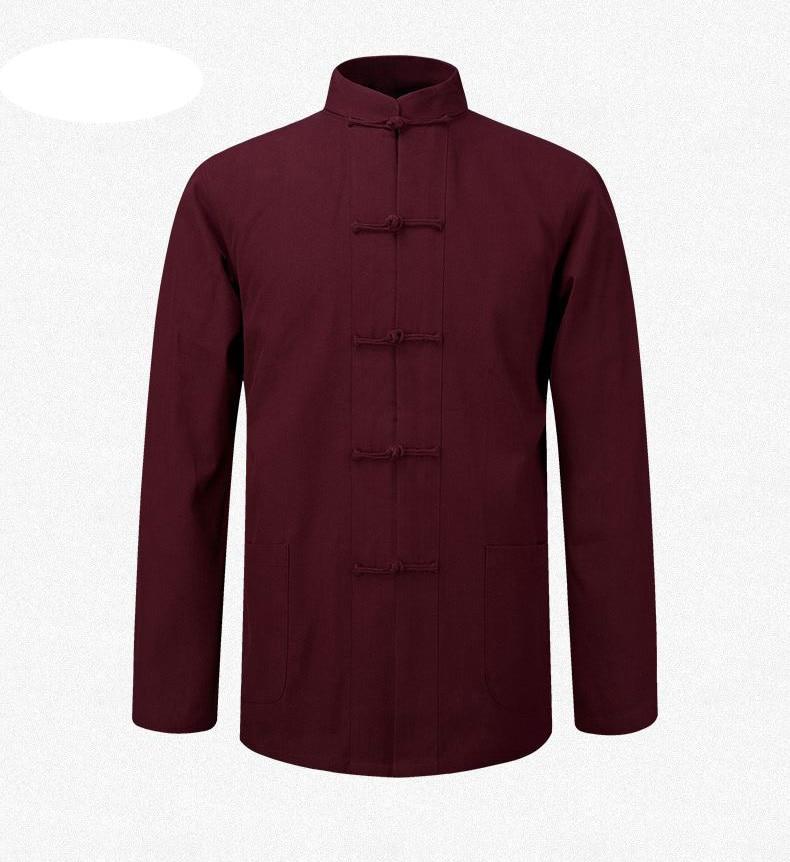 masculino casaco roupas kung fu tai chi