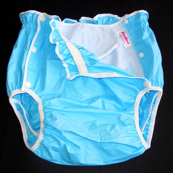 Free Shipping FUUBUU2219-Blue-L-1PCS Die Shorts/The Old Man Of Diapers/Waterproof Shorts/Incontinence Products