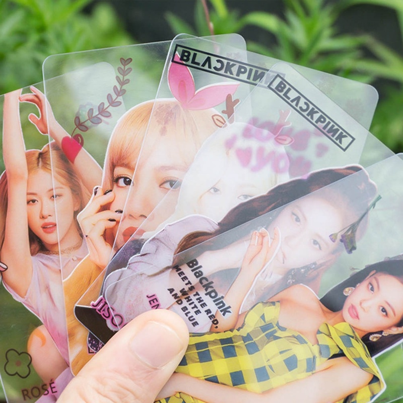 10Pcs/Set Stary Kids Blackpink KILL THIS LOVE Album Transparent Photo Card For Fans Gift